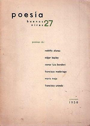 POESIA BUENOS AIRES - No. 27 - Año IX, primavera 1958: Aguirre, Raul Gustavo (Director)
