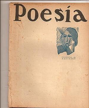 POESIA - Nos. 1 y 2 - Vol. I, junio de 1933. (Xilografías de Audivert): Vignale, Pedro Juan ...