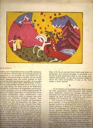 DERRIERE LE MIROIR - No. 42 - Novembre - décembre 1951. Kandinsky 1900 - 1910