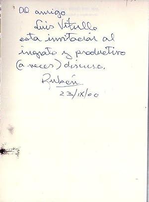 LA SOCIEDAD DEL MAL. Complejidad y capitalismo [Firmado / Signed]: Zorrilla, Ruben