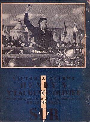 HENRY V Y LAURENCE OLIVIER. Con los principales pasajes de la obra traducidos por Ricardo Baeza: ...