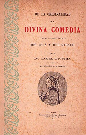 DE LA ORIGINALIDAD DE LA DIVINA COMEDIA.: Licitra, Angel