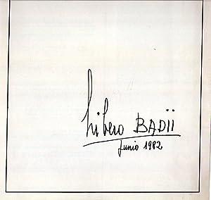 LIBERO BADII. Pinturas - Exposición No. 467: Badii, Libero
