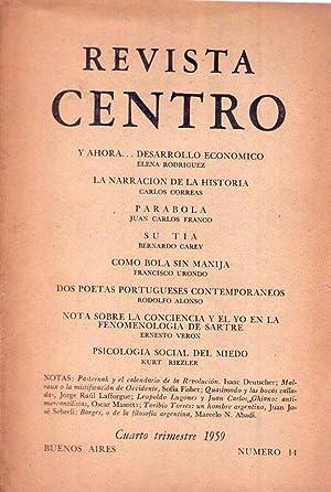 CENTRO - No. 14 - Cuarto trimestre 1959. (Como bola sin manija por Francisco Urondo): Lafforgue, ...