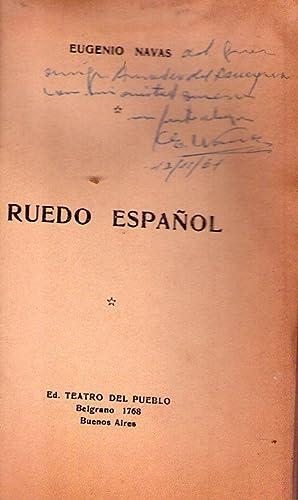 RUEDO ESPAÑOL [Firmado / Signed]: Navas, Eugenio