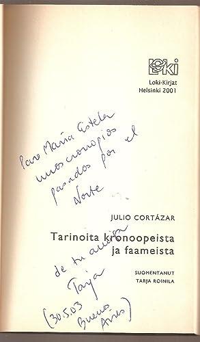 TARINOITA KRONOOPEISTA JA FAAMEISTA. Suomentanut Tarja Roinila. (Espanjankielinen alkuteos HISTORIA...