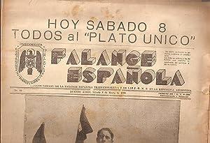 FALANGE ESPAÑOLA - No. 66 - Sábado 8 de Enero de 1938: Fascismo - Falange