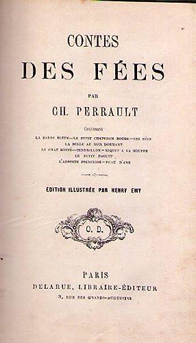 CONTES DE FEES. Contenant: La barbe bleue,: Perrault, Charles