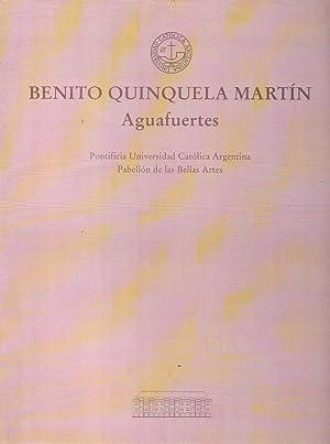 BENITO QUINQUELA MARTIN. Aguafuertes. 13 de marzo