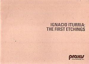 IGNACIO ITURRIA: THE FIRST ETCHINGS. November 20th.: Iturria, Ignacio