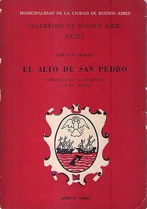 EL ALTO DE SAN PEDRO. Parroquias de la Concepción y de San Telmo: Maroni, Jose Juan