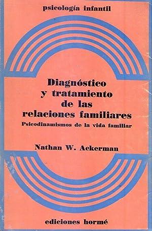 DIAGNOSTICO Y TRATAMIENTO DE LAS RELACIONES FAMILIARES. Psicodinamismos de la vida familiar. ...