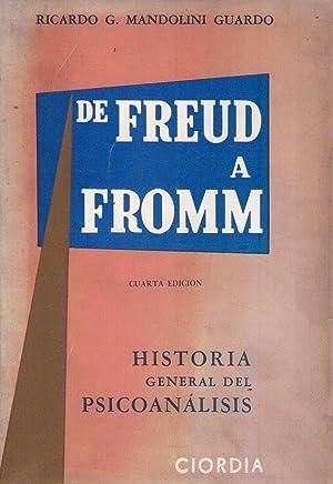HISTORIA GENERAL DEL PSICOANALISIS. De Freud a: Mandolini Guardo, Ricardo