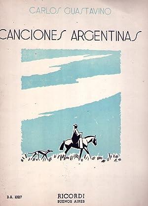 4 CANCIONES ARGENTINAS. Para canto y piano. I: Desde que te conocí. II: Viniendo de ...
