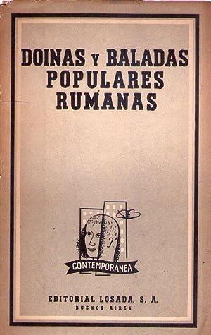 DOINAS Y BALADAS POPULARES RUMANAS. Traducción y prólogo de Maria Teresa León ...