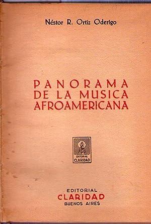 PANORAMA DE LA MUSICA AFROAMERICANA: Ortiz Oderigo, Nestor
