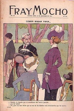 FRAY MOCHO - No. 139. Año III, diciembre de 1914 (Fray Mocho en la guerra): Correa Luna, ...