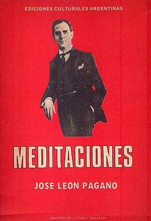 MEDITACIONES: Pagano, Jose Leon