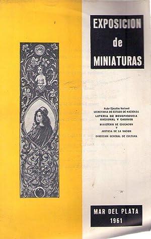 EXPOSICION DE MINIATURAS)