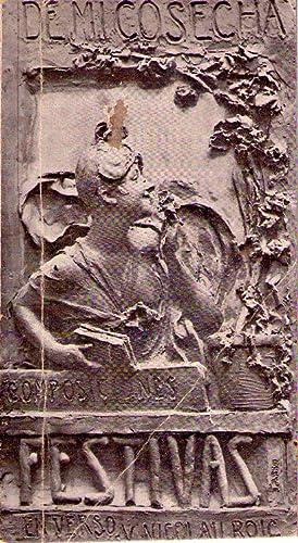 DE MI COSECHA. Con un prólogo de Moisés Numa Castellanos. Ilust. de Caraffa, Fortuny,...