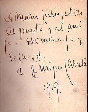 TIEMPOS ILUMINADOS. [Firmado / Signed]: Larreta, Enrique