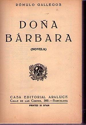Resultado de imagen para primer libro doña barbara