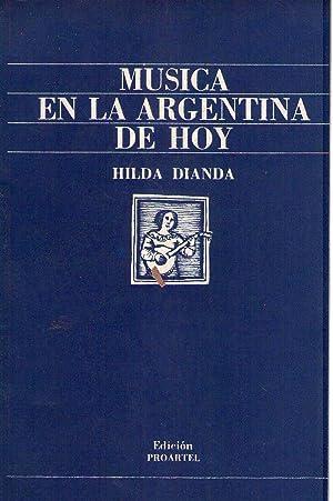 MUSICA EN LA ARGENTINA DE HOY: Dianda, Hilda