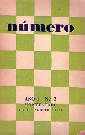 NUMERO - No. 3 - Año 1, julio - agosto 1949: Claps, Manuel A. - Rodriguez Monegal, Emir - ...