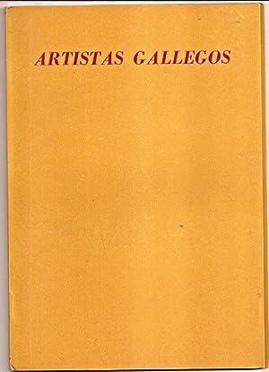 ARTISTAS GALLEGOS. Exposición organizada por el Centro Gallego de Buenos Aires 1951: Diaz ...