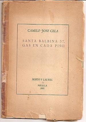SANTA BALBINA 37, GAS EN CADA PISO: Cela, Camilo Jose