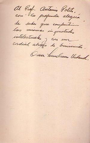 APRECIACION LITERARIA [Firmado / Signed]: Sambrano Urdaneta, Oscar