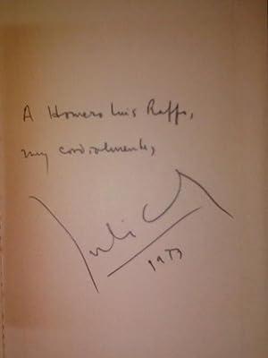 LIBRO DE MANUEL [Firmado / Signed]: Cortazar, Julio