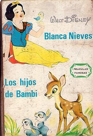 BLANCA NIEVES. LOS HIJOS DE BAMBI. Versión: Disney, Walt