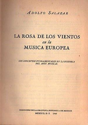 LA ROSA DE LOS VIENTOS EN LA MUSICA EUROPEA. Los conceptos fundamentales en la historia del arte ...
