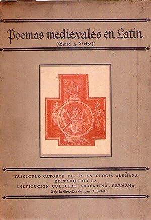 POEMAS MEDIEVALES EN LATIN. Epica y lírica