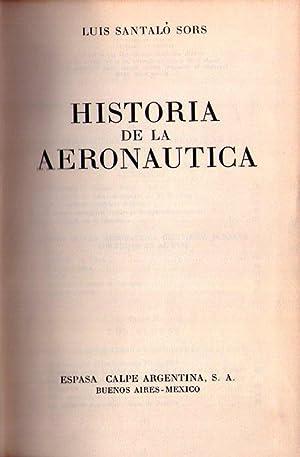 HISTORIA DE LA AERONAUTICA: Santalo Sors, Luis