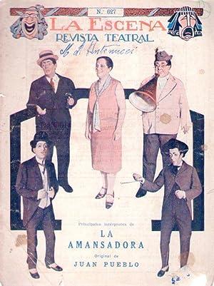 LA AMANSADORA. Sainete en tres cuadros, original de Juan Pueblo. Estrenado en el Teatro Apolo, por ...
