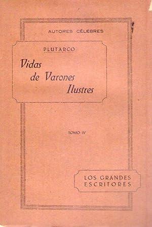 VIDAS DE VARONES ILUSTRES. (5 tomos): Plutarco