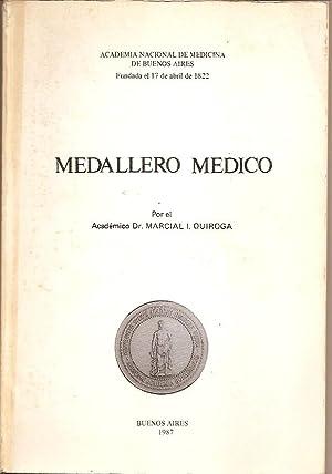 MEDALLERO MEDICO: Quiroga, Marcial I.
