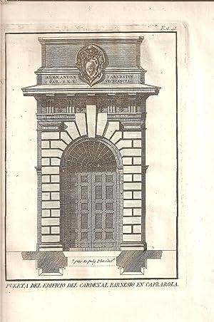REGLAS DE LOS CINCO ORDENES DE ARQUITECTURA DE VIGNOLA,: Vignola (Giacomo Barozzi da)