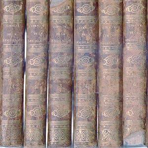 CIENCIA DE LA LEGISLACION. (6 tomos). Nuevamente traducida por Don Juan Ribera. Segunda edici&...