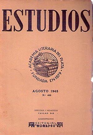 ESTUDIOS - No. 400. Año 35, tomo 73. Agosto - diciembre 1945 (El mecanismo de los jud&iacute...