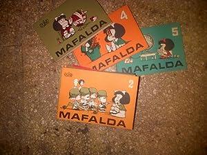 MAFALDA 1, 2, 3, 4, 5, 6,: Quino