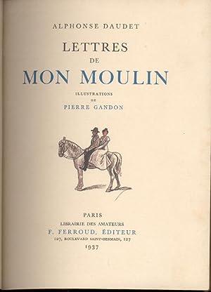 LETTRES DE MON MOULIN. Illustrations de Pierre Gandon: Daudet, Alphonse