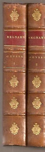OEUVRES DE REGNARD. (2 vols.) Précedée d'une introduction d'après ...