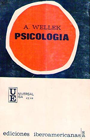 PSICOLOGIA: Wellek, Albert