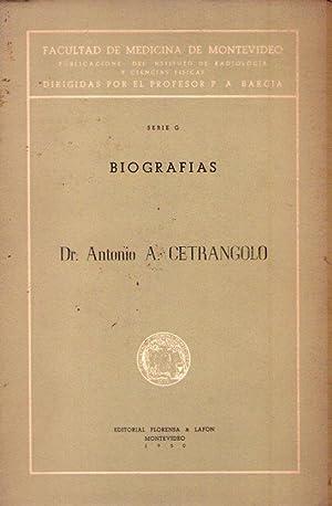 ANTONIO A. CETRANGOLO. Biografías: Bracco, Angel N.