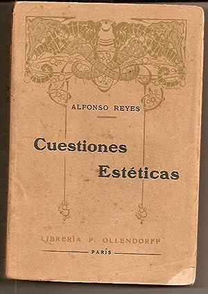 CUESTIONES ESTETICAS: Reyes, Alfonso