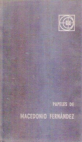PAPELES DE MACEDONIO FERNANDEZ: Obieta, Adolfo de