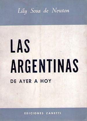 LAS ARGENTINAS DE AYER A HOY: Sosa de Newton, Lily